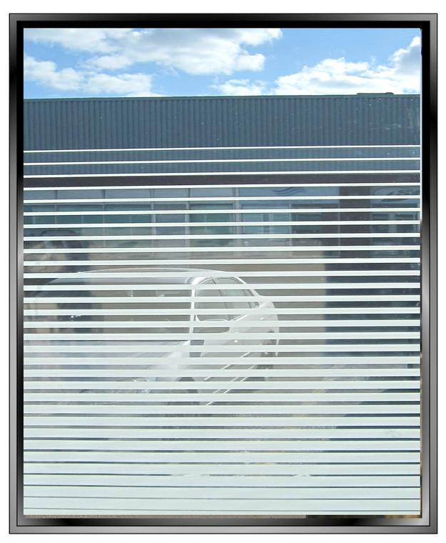 "Geometric 46"" Gradient - DIY Decorative Privacy Window Film"