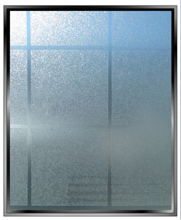 "Geometric 3"" Matte Squares - DIY Decorative Privacy Window Film"