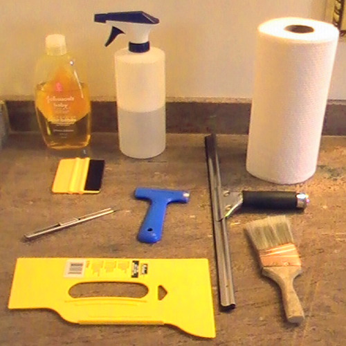 Tools Needed for DIY Window Film Installation