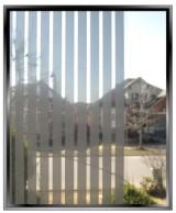 Silver Vertical Stripes