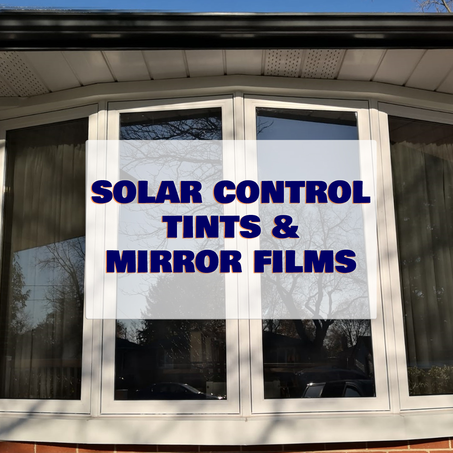 solar tint and mirror/reflective film category