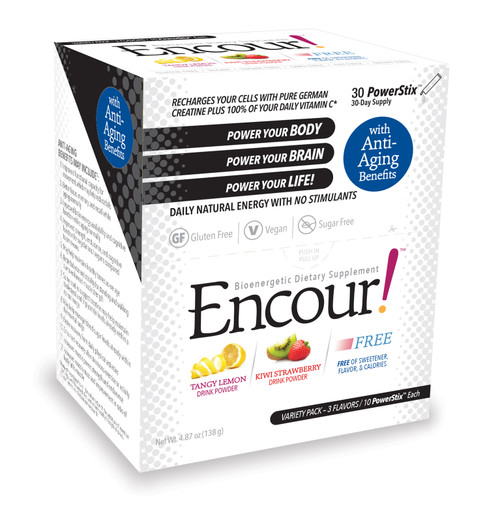 Variety Pack Encour Original Flavors plus new Encour FREE