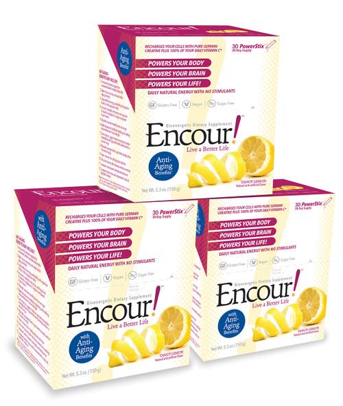 Tangy Lemon Encour! 3 Pack