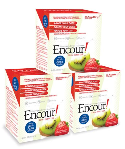 Kiwi Strawberry Encour! 3 Pack