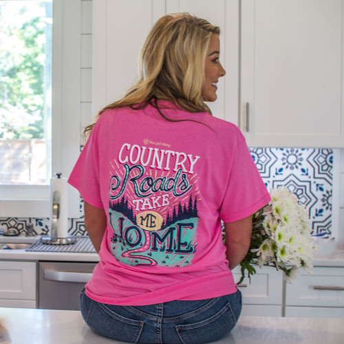 It's a Girl Thing Country Roads (Pink)