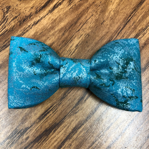Children's Bowtie Teal and Green - Toddler