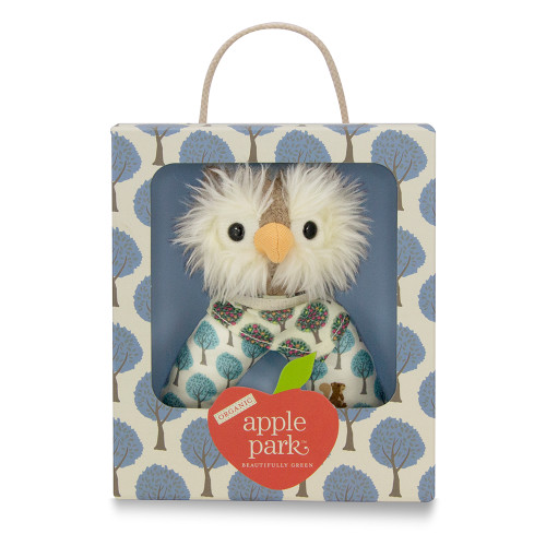 Apple Park Kids - Owl Patterned Rattle
