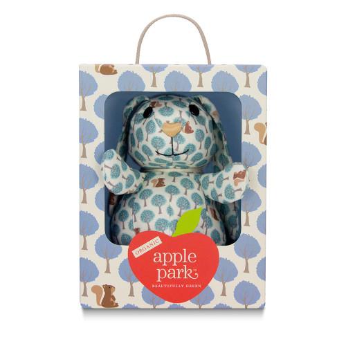 Apple Park Kids - Blue Forest Patterned Bunnie