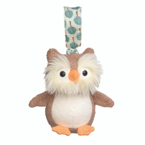 Apple Park Kids - Owl Stroller Toy