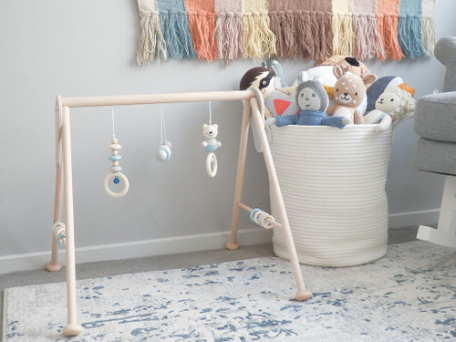 Hess-Spielzeug - Baby Play Gym Natural Blue