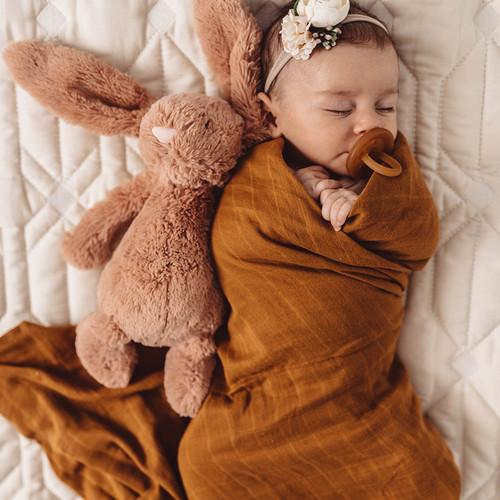 Snuggle Hunny Kids - Bronze Organic Muslin Wrap