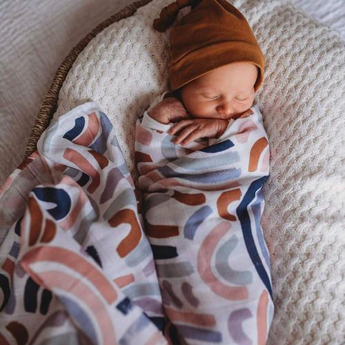 Snuggle Hunny Kids - Rainbow Baby Organic Muslin Wrap