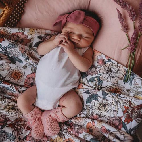 Snuggle Hunny Kids - Australiana Baby Organic Muslin Wrap