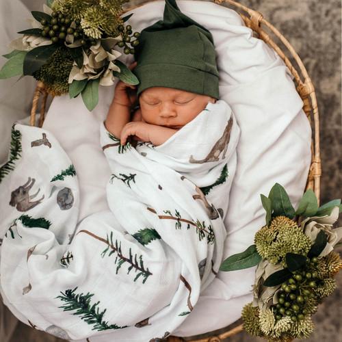 Snuggle Hunny | Alpha Baby Organic Muslin Wrap