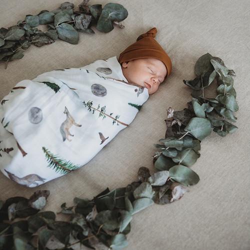 Snuggle Hunny Kids - Alpha Baby Organic Muslin Wrap