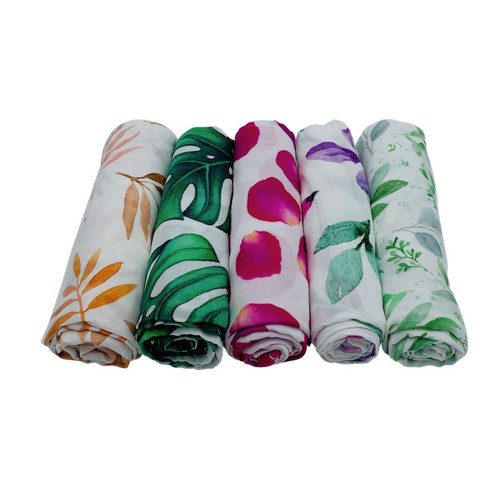 Organic Cotton Baby Wrap - 3 Pack Bundle