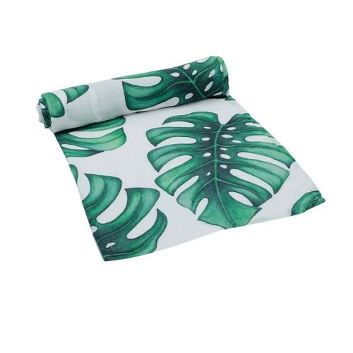 Organic Cotton Wrap - Garden Palm