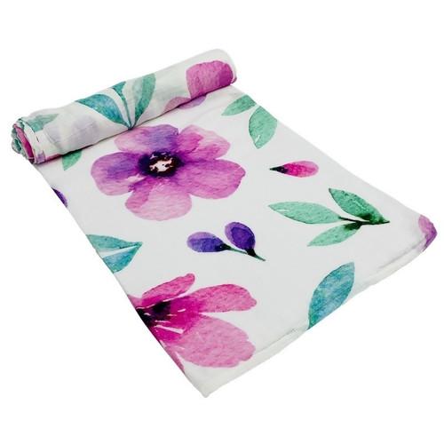 Organic Cotton Wrap - Floral Spring