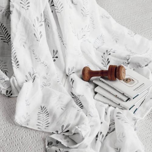Snuggle Hunny Kids - Wild Fern Baby Organic Muslin Wrap