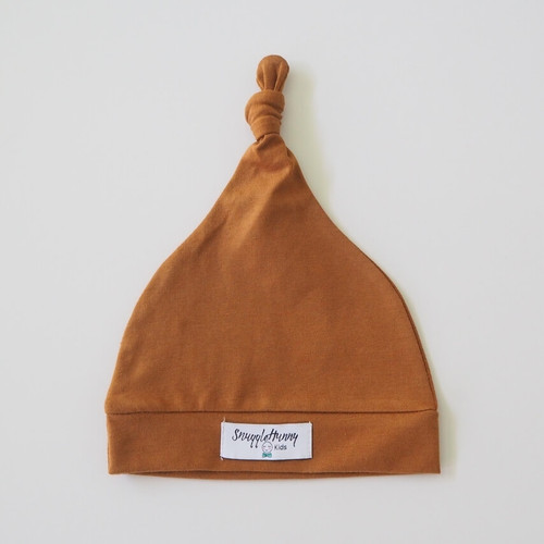 Snuggle Hunny Kids - Bronze Knotted Baby Beanie
