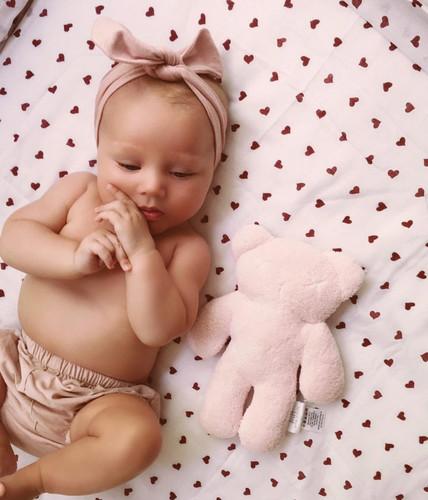 Snuggle Hunny Kids - Blush Pink Topknot Headband