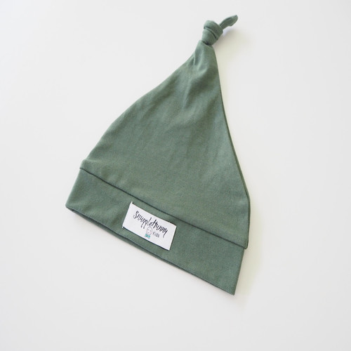 Snuggle Hunny Kids - Olive Knotted Baby Beanie
