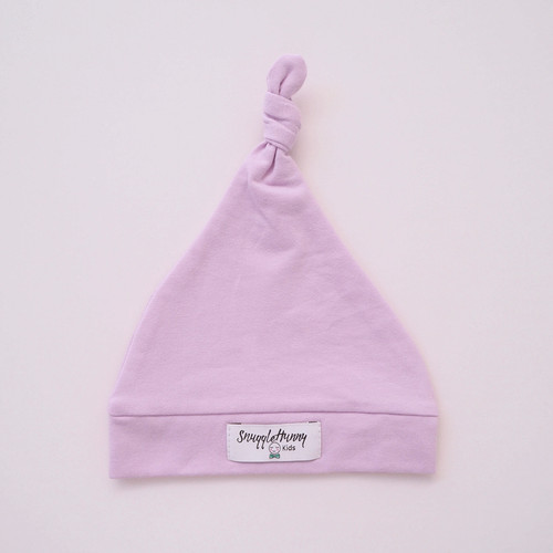 Snuggle Hunny Kids - Lilac Knotted Baby Beanie