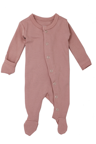 L'oved Baby Organic Jumpsuit in Mauve