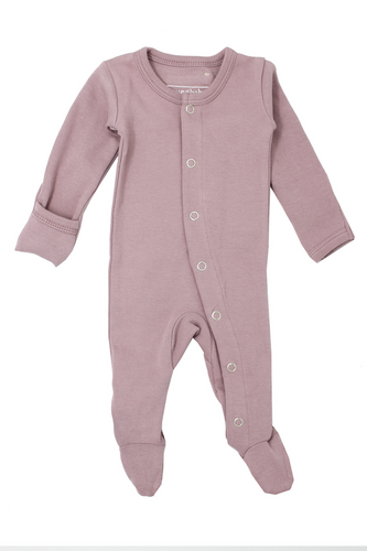 L'oved Baby Organic Jumpsuit in Lavender