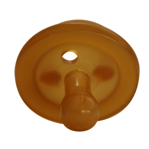 Natural Rubber Soother Round dummy | Twin