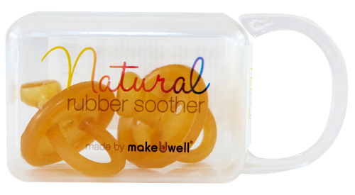 Natural Rubber Soother Orthodontic Dummy | Twin