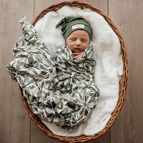 Snuggle Hunny Kids - Evergreen Organic Muslin Wrap