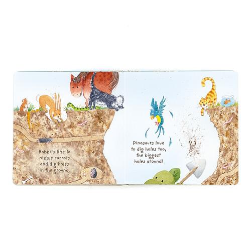 Jellycat My Best Bashful Dinosaur Book