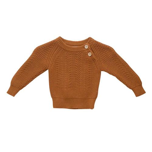 Two Darlings - RUST Sweater