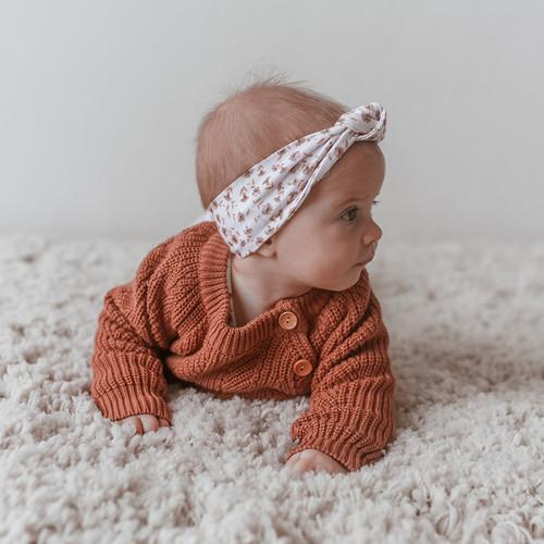 Two Darlings - TERRACOTTA Sweater