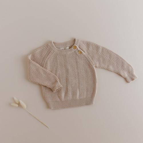 Two Darlings - STONE Sweater