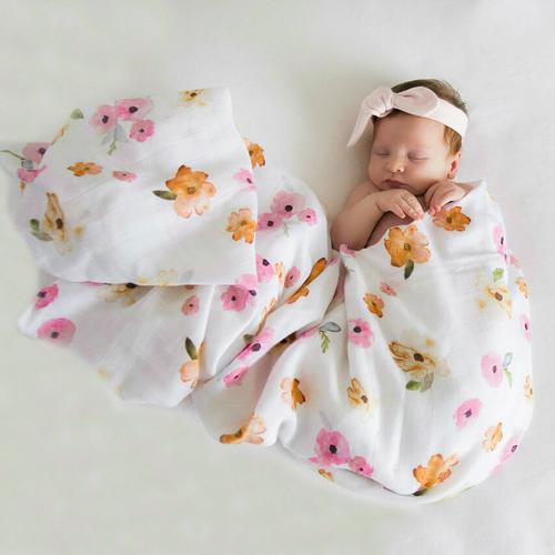 Snuggle Hunny Kids - Poppy Organic Muslin Wrap