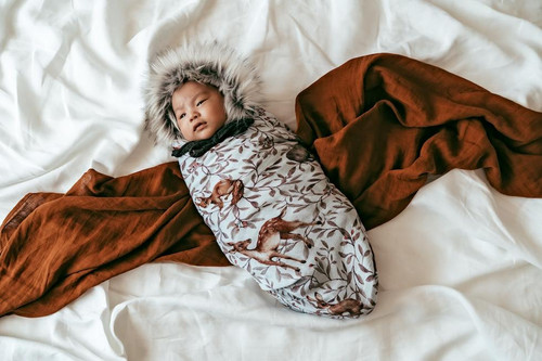Pop Ya Tot - Creatures of the Woods Baby Swaddle