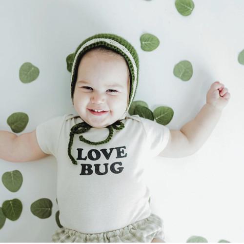 Tenth & Pine Love Bug Bodysuit - Short Sleeve
