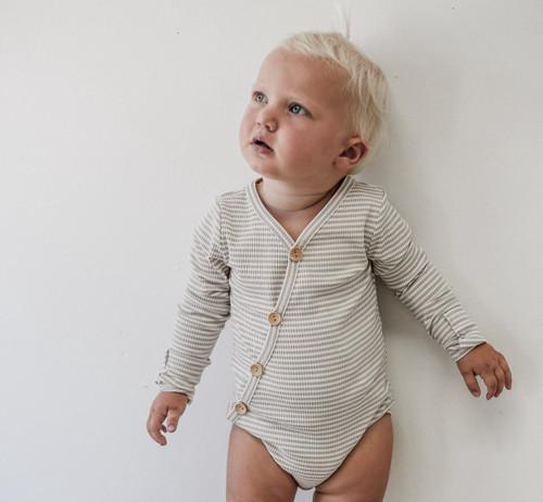 Two Darlings - Fawn Stripe Bodysuit