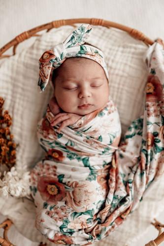 Snuggle Hunny Kids - Florence Jersey Wrap & Beanie Se