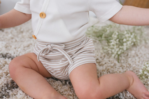 Two Darlings - Fawn Stripe Shorties