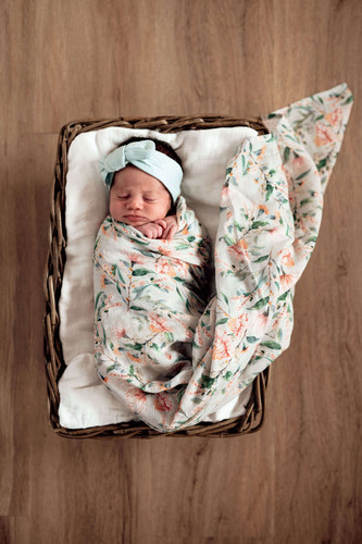Snuggle Hunny Kids - Wattle Organic Muslin Wrap