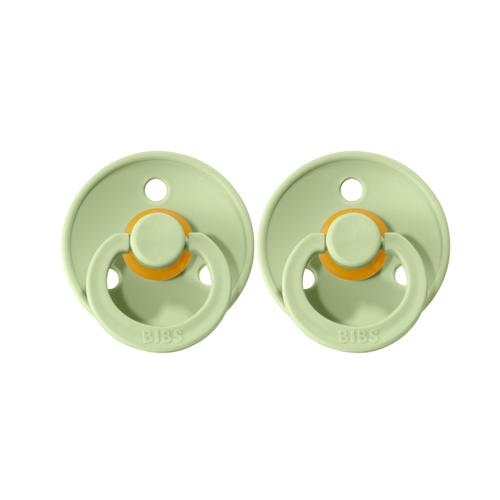 BIBS Dummies Twin Pack (Size 1) - Pistachio
