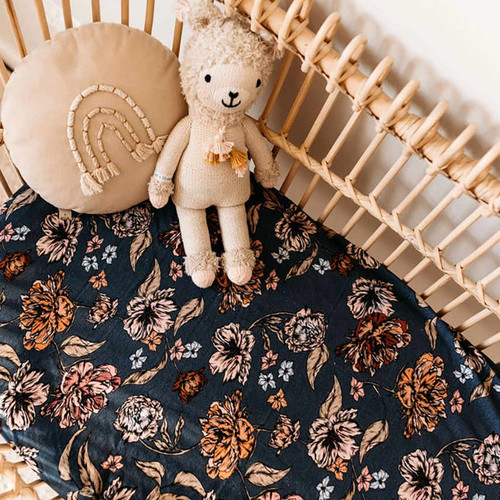 Snuggle Hunny Kids - Belle Bassinet Sheet | Change Pad Cover