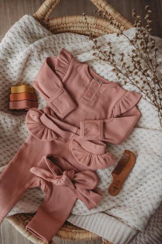 Snuggle Hunny Kids - Rose Long Sleeve Bodysuit