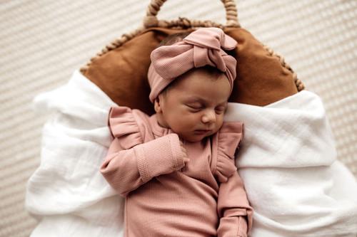 Snuggle Hunny Kids - Rose Growsuit