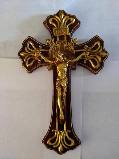 """St. Benedict Crucifix 9 3/4"""""""