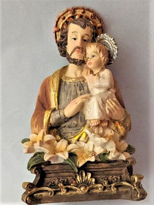 St. Joseph and Child Jesus 4.5""