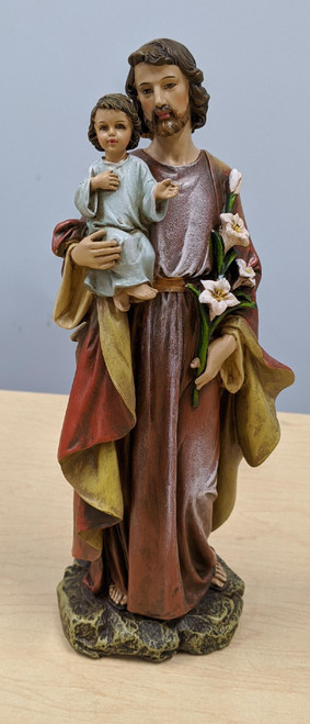St. Joseph and Child 10""